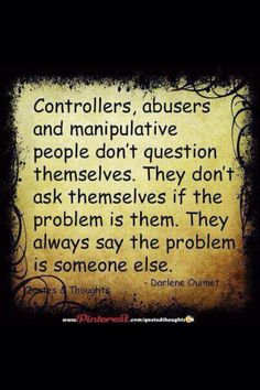 Even when confronted by authority, they refuse to accept that they are in the wrong. #manipulator #sociopath #narcissist