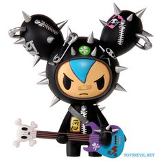 Cactus Rocker - Blue is a Designer toy designed by Simone Legno (Tokidoki) and manufactured by Tokidoki in 2012 Vinyl Toys, Vinyl Art, Plastic Shop, Anime Figurines, Designer Toys, Vinyl Figures, Doll Toys, Art Dolls, Hello Kitty