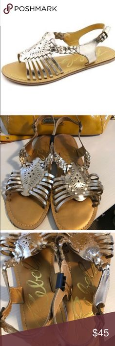 NORDSTROM REBELS GOLD GLADIATOR SANDALS Rebels gold sandal. Size 7, regular fit. Used once for a wedding as seen on third picture. No rips, holes or stains (except for outside sole) Upper leather and inside sole intact. Gold color may not be perfect since its real leather straps.                  Retail 60$.   💗Condition: EUC, No flaws 💗Smoke free home 💗No trades, No returns 💗No modeling  💗Shipping next day 💗OPEN TO reasonable OFFERS  💗BUNDLE and save more 💗All transactions video…
