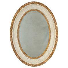 Bliss Studio Sofia Oval Mirror @LaylaGrayce 34 w x 46 h