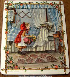 Tasha Tudor Fairy Tale Illustration.  This book is one of my childhood treasures.