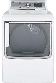 """Energy Star GE Gas Dryer, GE GTD86GSSJWS - 28"""" Gas Dryer. Buy more, save more. Watch your savings grow. A minimum of 2 items must be added to the cart to be qualified. The qualifying discount amount depends on the brand and the value of your cart and item(s) total. If you qualify for the AppliancesConnection exclusive instant savings discount you will see a green badge below the items in your cart with the amount of savings for shopping with us. For additional rebates visit the link."""
