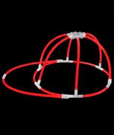 2pcs NEON LUMINOUS GLOW STICKS OVAL SKULL HEART EYE GLASSES HEADBAND PARTY