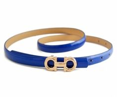 This waist belt crafted in PU,featuring a slim cut,double circle decoration buckle fastening to front. spenditonthis.com