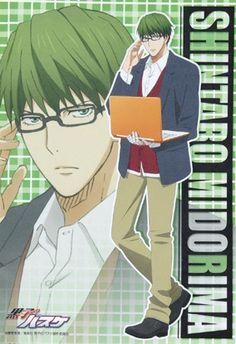 kuroko no basuke, shooting guard, and glasses image