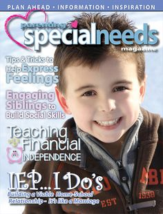Parenting Special Needs Magazine, February edition!