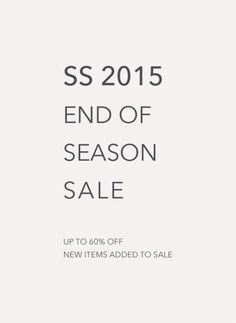 CRUVOIRu0027s End Of Season Sale Starts Today Further Reductions Up To Off  Spring Summer All Orders Will Receive Free Worldwide Express Delivery With  Code: ...