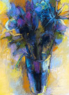 Unexpected Gift, 22x16 pastel on paper by Debora L. Stewart