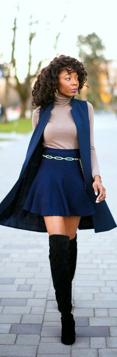 Work Chic || Navy Blue / Fashion By The Cocopolitan
