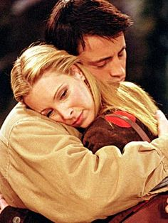 Matt LeBlanc with Lisa Kudrow