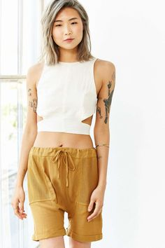 Staring At Stars Harem Short - Urban Outfitters