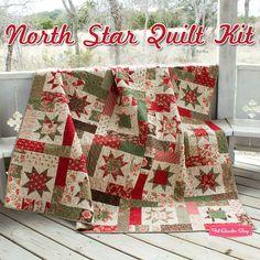 "My next project! Uses Atkinson Quilt Pattern ""Lucky Stars"". Moda ""Grace"" fabric."