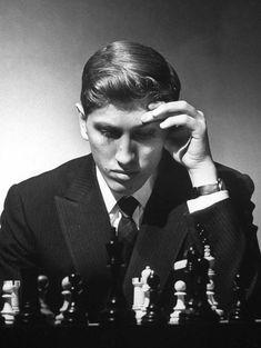 Robert J. Fischer, 1962 by Carl Mydans