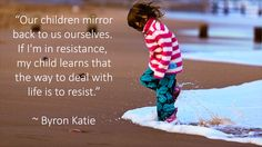 """Our children mirror"