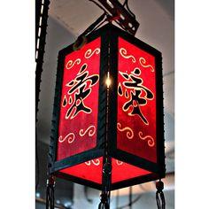 Zen hanging lamp lighting, Wood pendant lamp shade, Hanging lantern, Chinese lantern, Paper lampshade home decor garden decor HA50