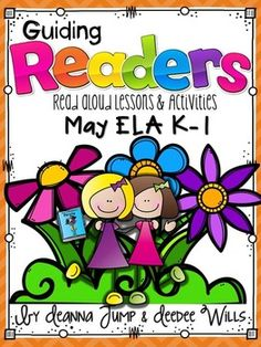 Guiding Readers: MAY NO PREP ELA Unit for K-1