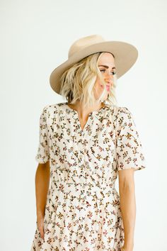 Day at the Market Floral Dress | ROOLEE #ROOLEEfave
