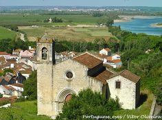 Igreja de Santa Cruz - Ribeira de Santarém - Portugal
