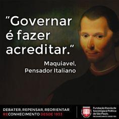 12 Melhores Ideias de MAQUIAVEL | Maquiavel, Maquiavel frases ...