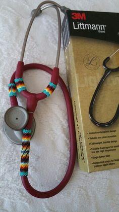 Beaded Littmann stethoscope $120+s&h