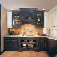 Painted Black Kitchen Cabinets omega cabinetry display - lebeau cabinets - midland, mi | dynasty