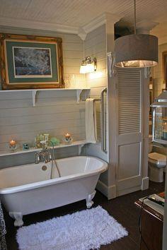 people try to find the best small bathroom ideas for their tiny bathroom solutio. - people try to find the best small bathroom ideas for their tiny bathroom solution! Clawfoot Tub Bathroom, Bathroom Renos, Bathroom Interior, Bathroom Ideas, Bathroom Remodeling, Bathtub Ideas, Master Bathroom, Bath Tub, Bathroom Vanities