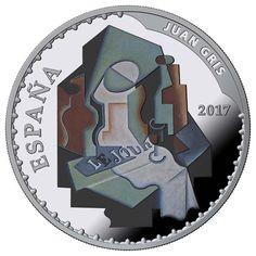 10 Euro Silber Museen: Gris & Degas PP Spanien