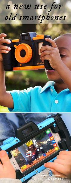 Pixlplay: Smartphone Enabled Kids' Camera