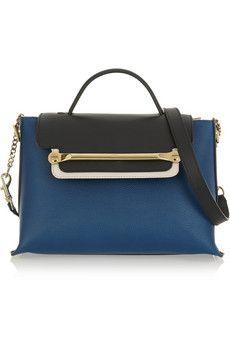 Chloé Clare medium textured-leather shoulder bag