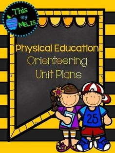This Orienteering Unit Plan was designed for the Elementary School aged group, more specifically Kindergarten through to Fourth Grade. Included in this package are 13 games/lessons that have been placed in the order I have taught them in my physical education classes. Pe Games, Activity Games, Games For Kids, Physical Education, Physical Activities, Pe Lesson Plans, Elementary Pe, Pe Lessons, Pe Class