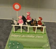 interest cake, horseponi parti, hors race
