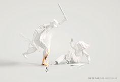 Fan the flame, Прочее © Тоже люди