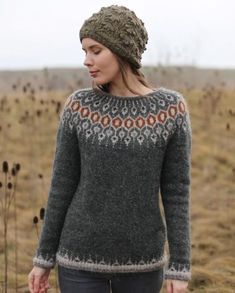 Free and Crochet Sweater Pattern! This Year Modern and Stylish Crochet Patte. , Free and Crochet Sweater Pattern! This Year Modern and Stylish Crochet Patte. , Free and Crochet Sweater Pattern! This Year Modern and Stylish Crochet Patte. Fair Isle Knitting Patterns, Sweater Knitting Patterns, Knitting Designs, Knit Patterns, Knitting Sweaters, Free Knitting, Punto Fair Isle, Norwegian Knitting, Icelandic Sweaters
