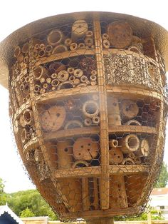 Mason bee house super size!