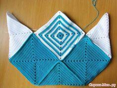 ARTE EM CROCHÊ, TRICÔ E ARTESANATOS: BOLSA DE PRAIA DE CROCHÊ COM MOTIVOS QUADRADOS E PAP Crochet Market Bag, Crochet Tote, Crochet Handbags, Crochet Purses, Diy Crochet, Purse Patterns, Crochet Patterns, Fabric Bags, Knitted Bags