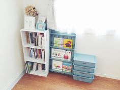 A photo posted by Kiyora. Diy Toys, Room Organization, Clean Up, Kids And Parenting, Baby Room, Diy And Crafts, Baby Kids, Kids Room, Bookcase
