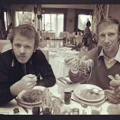 "Leeds United FC's Instagram profile post: ""Billy Bremner and Jack Charlton 1971 #leeds #lufc #MOT"" Jack Charlton, Leeds United Fc, Counting, Liverpool, Profile, The Unit, Football, Retro, Health"