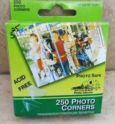 Studio BBG Photo Corners by Pioneer