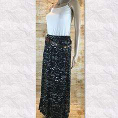 "Long southwestern skirt Measured flat waist 15"" length 42"" (location04) Mossimo Supply Co Skirts Maxi"