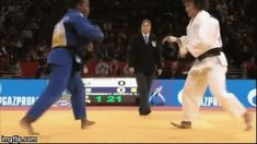 Juji Gatame — What a precious De-ashi-harai… this is Judo at is...