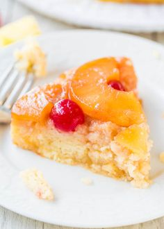 The Best Pineapple Upside-Down Cake - So soft, moist & really is The Best!!