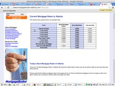 Current Mortgage rates List  Via (http://www.mortgagebroker-alberta.com/)