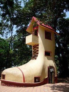 Shoe House ;People must like this design , a lot of shoe house's  around.