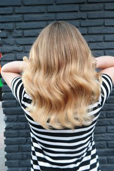 #blonde #gold #butterblonde #olaplex #highlights #waves #haircolor #hairstyle #hairstyle2017 #shine #healthyhair #haarvisie #haarvisierijswijk Butter Blonde, Top Stylist, Latest Fashion Trends, Hair Care, Stylists, Long Hair Styles, Bond, Hairstyle, Beauty