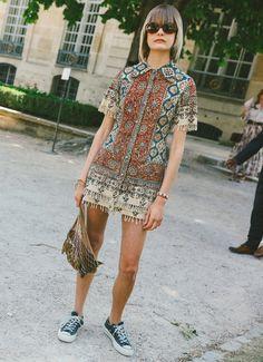 Caroline Schurch in Dior