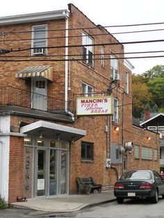 Mancini's Bakery (since 1926), located at 1 Mancini Way (601 Woodward Ave # 1) in McKees Rocks, Pennsylvania