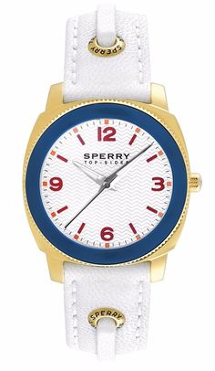 Sperry Women's Summerlin Leather Strap Watch Style #:   102062, MSRP $160.00 #Sperry #Fashion