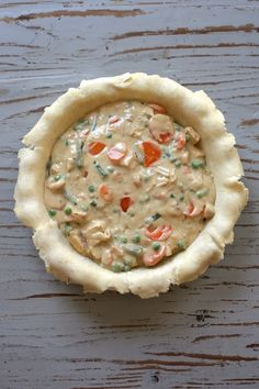 Double Crust Chicken Pot Pie Recipe