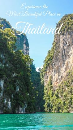 Khao Sok national park: the most beautiful place in Thailand. How to get there and what to do? http://www.skullclothing.net
