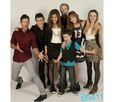 """Throwback Thursday Photo: Brandon Johnson And The """"Shake It Up"""" Cast February 28, 2013 ~ Repinned by Federal Financial Group LLC #FederalFinancialGroupLLC ffg2.com #ThrowBackThursday Http://facebook.com/federal.financial.group.llc"""